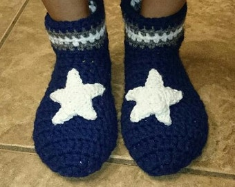 Dallas Cowboy Booties