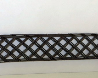 "Lattice Style Willow Edging, 16""H x 47""L, Set of 2 pieces, WE-42-2"