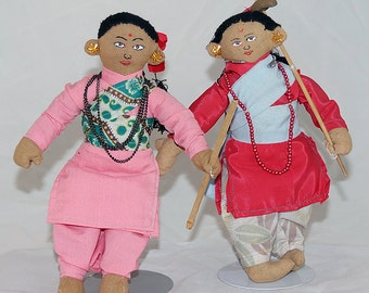 Indian Dolls from the 1980s