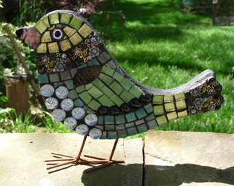Verdant Mosaic Bird