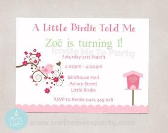 Little Birdie Invitation