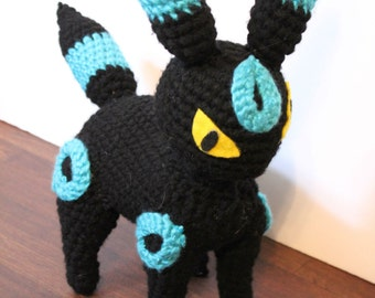 Umbreon Plush Doll - Amigurumi Crochet