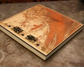 Wooden Japanese Wave Journal