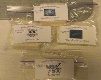 Homemade, Organic, Non-GMO, Goats Milk Soap
