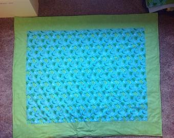 Turtle-Frog Blanket