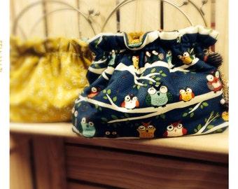 Vintage Owl Handbag