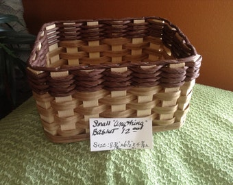 Small Hand Woven Basket - Hand Woven Basket To Organize Anything You Would Like To Keep Neat