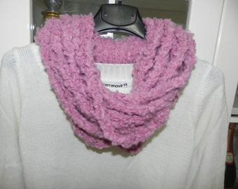 Women's handmade scarf neck warmer