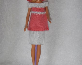 Knitted Barbie Clothes.