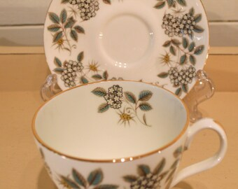 royal albert china cup and saucer 'angelica'