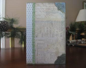 "5 1/2"" x 8 1/2"" Paper Bag Mini Scrapbook Album"