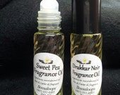 Roll on fragrance perfume oil. 42 different scent choices! Handmade.