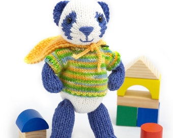 Super Panda Knitting Pattern