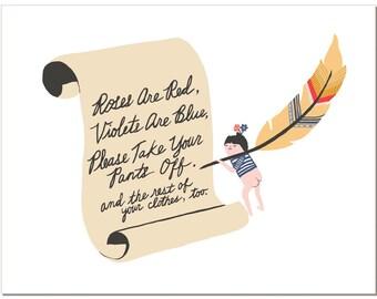 Notecard - Poem