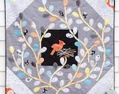 Nest & Tweet Quilt Sewing Pattern - Printed Booklet