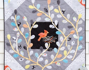 Nest & Tweet Quilt Sewing Pattern - Printed Booklet