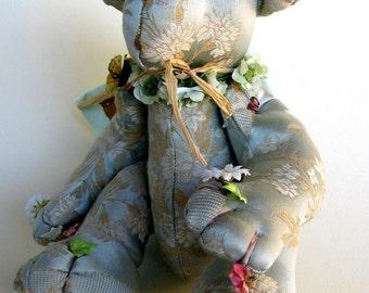 Instant Download PDF Pattern-Saturnale Teddy bear-Digital Download Artist Teddy Bears-No instructions