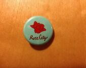 Rose City Portland 1 inch Button Pin