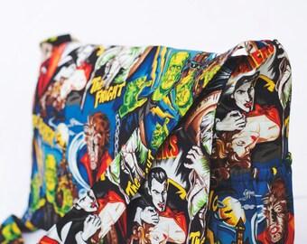 Punk Rock  Horror Movie Monsters Diaper Bag - CUSTOM