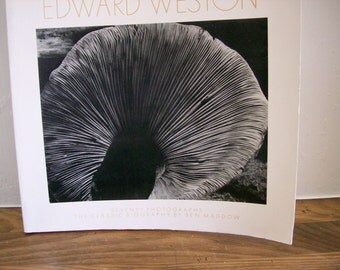 Art Book Edward Weston 'Seventy Photographs' by Ben Maddow 1978 Black & White Photography