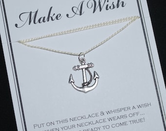 Anchor Wish Necklace