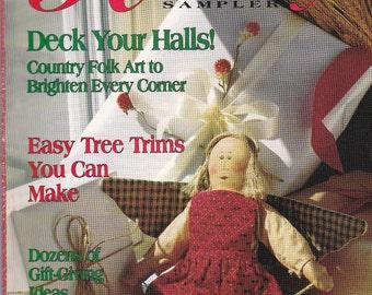 Holiday Sampler magazine 1991