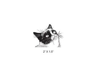 Grumpy Cat Rubber Stamp 498