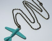eXtRa LoNg 30 iNcH cHaiN AiRpLaNe NeCkLaCe fliGHt AttEndAnT giFt fReE ShiPpiNg BOHO sTeAmPuNk