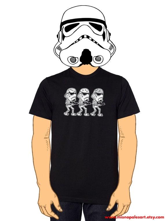 Storm Trooper Calaveras Men's T-Shirt Small, Medium, Large, XL in 5 Colors