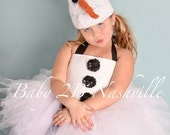 Winter Snowman Costume Tu...