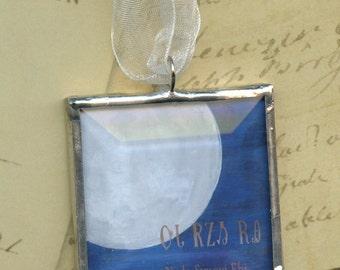 Ornament - Cherokee Language Series -  Nvda Svnoyi Ehi = Moon
