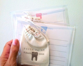 TOOTH fairy kit.  letter to the tooth fairy.