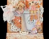 My-Besties Digi Image Handmade Easel Card