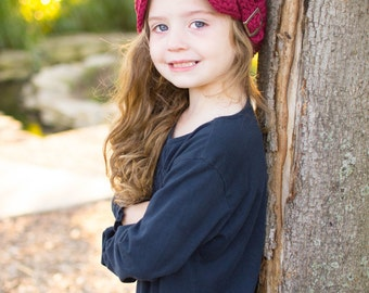 Toddler Newsboy Hat 2T to 4T Toddler Girl Hat Toddler Boy Hat Toddler Girl Newsboy Toddler Boy Newsboy Cap Red Wine Newsboy Red Newsboy
