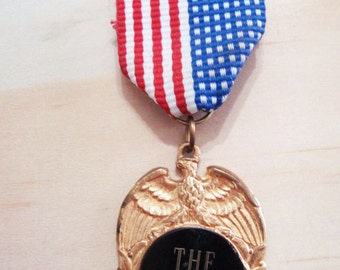 Vintage Medal Brooch - You are officially 'The Best'