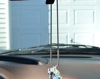 Rear View Mirror Horse Pendant stallion decoration for your Car or Truck.