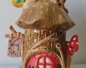 Fairy House Wing Repair