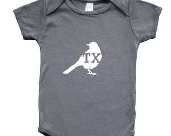 State Your Bird Baby Bodysuit Graphic Shirts - New Original Line