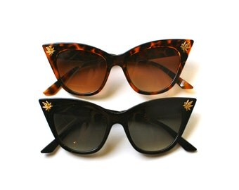 Stoner Kitty Cat Eye Sunglasses