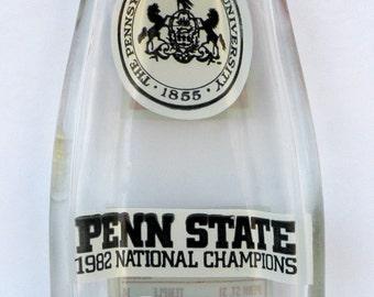 PENN STATE 1983 Vintage Coke Bottle Slumped Spoon Rest
