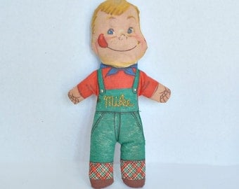 Stuffed Mike Doll Vintage 1953 From General Foods