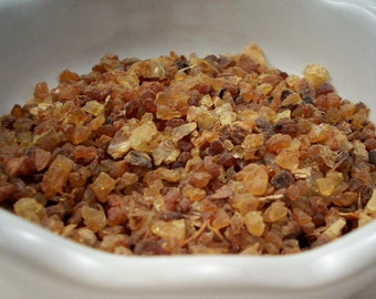 Myrrh Gum - Natural Resin Incense - Winter Solstice Christmas Scents - Ritual Incense - Pagan Supplies