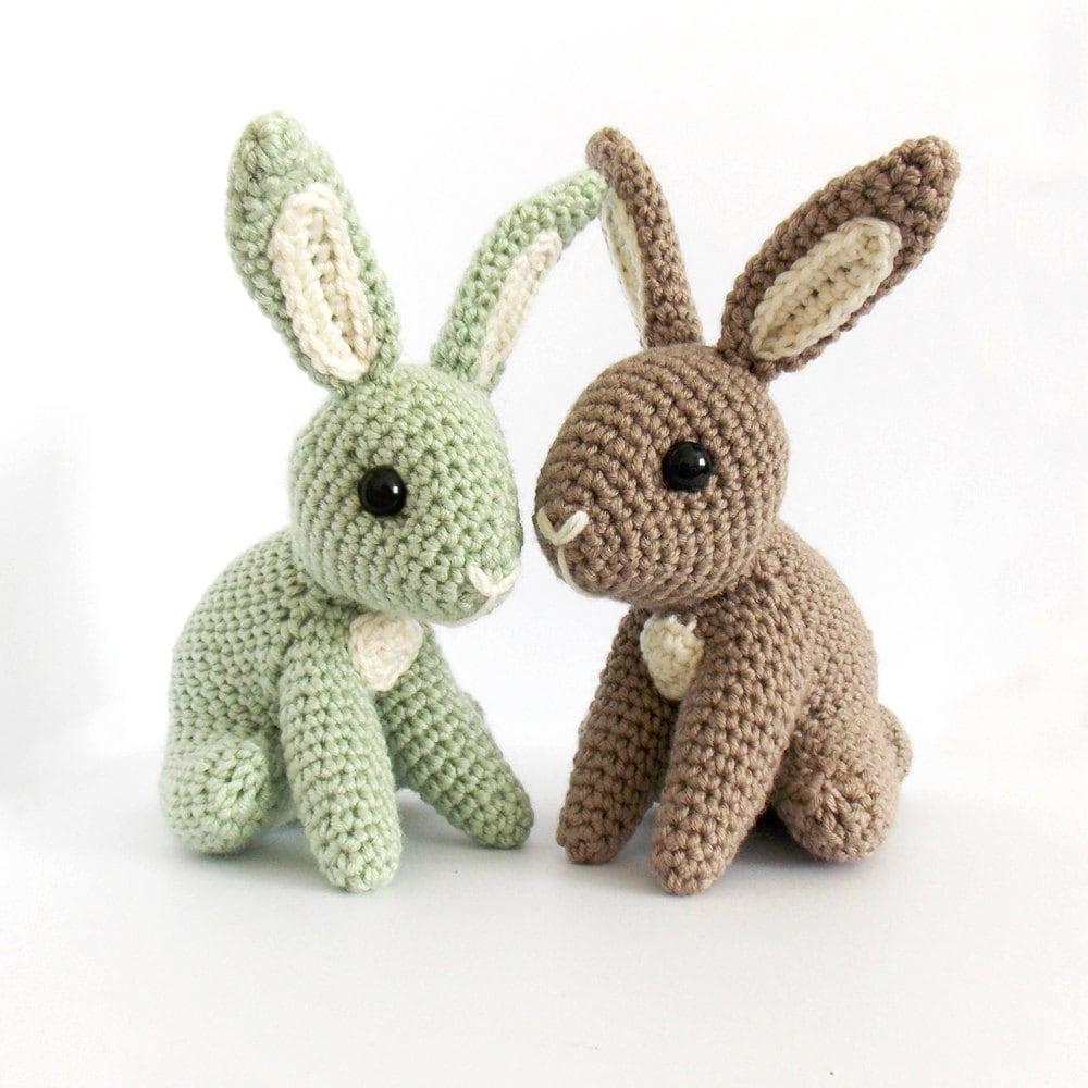 Amigurumi Bunny Ears : Hopscotch Bunny Amigurumi Pattern