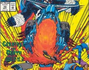 Issue 10 Ghost Rider/Blaze: Spirits of Vengeance Comic Book