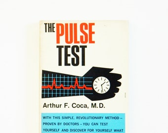 Vintage 1950s Science Paperback / Retro Pop Art / Mid Century Medical Book / Collectible Book / Vintage Book Decor