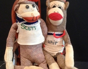 Scott and Whit - Vintage Sock Monkey