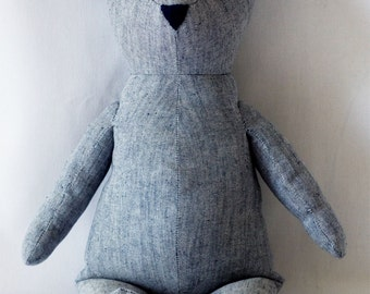 Nell's Teddy Bear Sewing Pattern PDF
