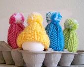 Easter Egg Cozy Pattern, Easter Eggs Hat, Easter Egg Hat, Easter Decorations, Egg Warmer, Easy Knitting PATTERNS Easter, Beginner Knitting