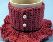 Mug Dress Cozy - PDF Crochet Pattern - Instant Download