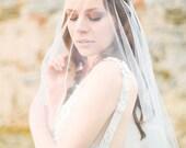 Wedding, Bridal Adornment, Crystal Rhinestone Bridal Headband - Style 319
